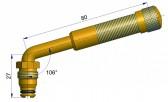 Вентиль американского типа латунный TRJ 655 S-4038-1